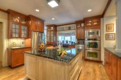 Interior design of private homes