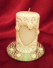 """Свечи для """"семейного очага"""" (свадебные"""