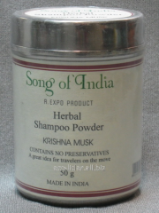Dry Song of India 50 grass shampoo of (Song of