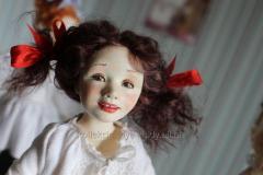 Designer doll Ballerina Olga, project Ballet class