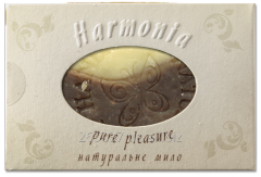 Chocolate soap the hands, cosmetic Lviv soap