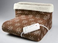 Электрическая грелка для ног из мягкой плюшевой ткани  HDF