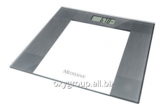 Glass individual scales of Medisana PS 400