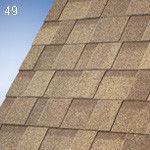 Bituminous tile of IKO - laminated: Cambridge HD