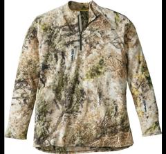 Пуловер из микрофлиса для охоты Cabela's Microfleece 1/4-Zip Jacket