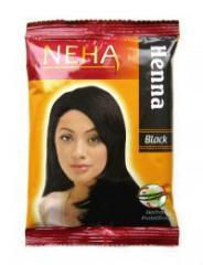 Henna for hair of Neha Henna Black of black, 20 g.