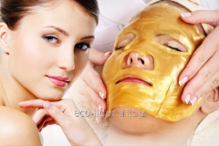 Collagenic face pack with colloid gold