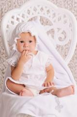 Set for the girl's baptism