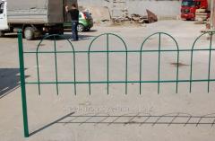 Fencings from metal