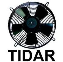 Axial Tidar fan of 400 mm. 220 V