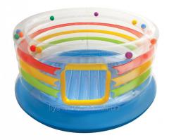 Надувной детский игровой центр - батут Intex,