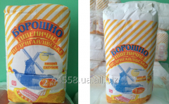 Wheat flour of different grinding, Sumy region