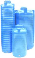 Vertical plastic capacities, plastic tanks