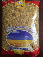 Production technology of macaroni, Sumy region