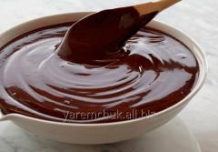 Глазурь шоколадная 122 черный чипсы