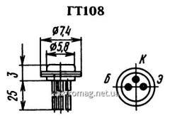 Транзистор  ГТ108Б