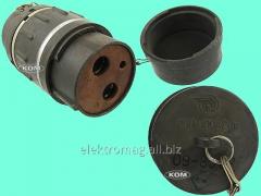 Соединитель силовой ШРА-250/400-розетка каб., код