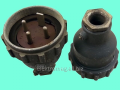 Connector of power RShP-3, product code 38804