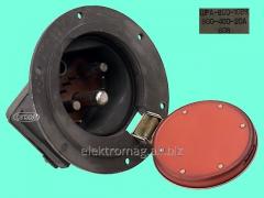 Connector of power ShRA-800-10 vkvilka bl.,
