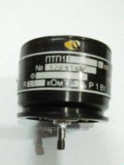 Потенциометр  ПТП-1 1Вт 2,5Ком 2кл 2%