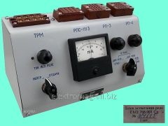 Block of test of the BIR relay, product code 30519