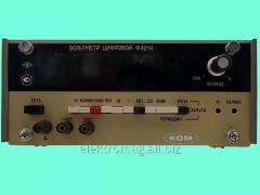 Вольтметр цифровой Ф4214, код товара 38491