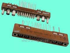 Connector rectangular shtyrevy RG7-10G3T-V,
