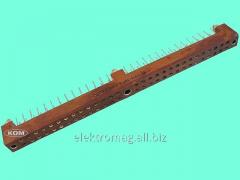 Connector rectangular shtyrevy GRPP3-58G-V,