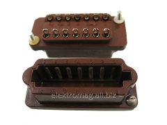 Connector rectangular flat RShAG-14 of roses.,