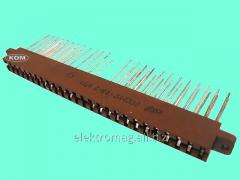 Соединитель прямоугольный плоский РППМ17-48-2, код
