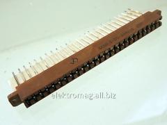 Соединитель прямоугольный плоский РППМ17-52-2, код