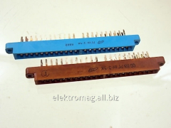Соединитель прямоугольный плоский МРН22-1вилка, код товара 14394