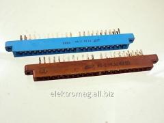 Соединитель прямоугольный плоский МРН22-1розетка, код товара 36414