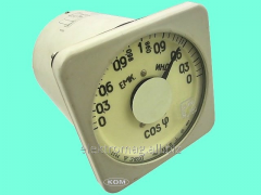 E1600 wattmeter - 0-1-0 cos F, a product code