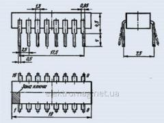 КМ555ЛА1 Микросхема
