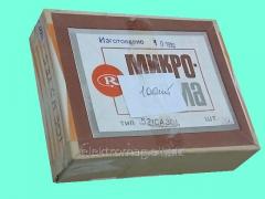 El microesquema КМ555ТМ9, el código de la