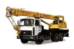 Mashek's (KC-55727-1) truck crane Ren