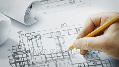 Design of system of heating, ventilation and