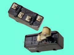 Переключатель МП1203 ролик, код товара 33936