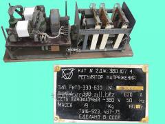 Регулятор напряжения РНТО-320-630, код товара 32983