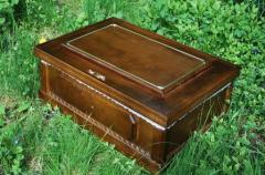 Coffin for a dog or a ca