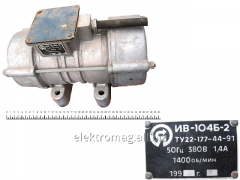 IV-104B-2 electric motor vibrator, product code