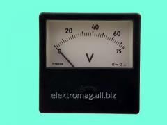 Вольтметр М1001 0-30 В, код товара 39437