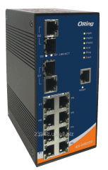 Switch IES-3082GC, industrial for transpor