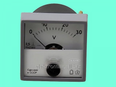 The M760 voltmeter - 0-300 V, a product code 34733