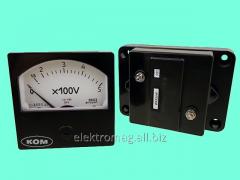Voltmeter UVN-80 voltage, product code 39880