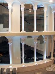 Пизанская башня Лепнина колоны 3