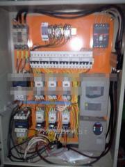Case of management (electroboard) line of a