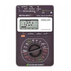 Analog digital multi-meter METRAmax 12