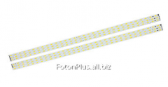 LED rulers for assembly of lamps of 2x58 type (3